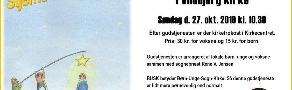 Vildbjerg kirke - BUSK - rytmisk gudstjeneste med Gospel Kids