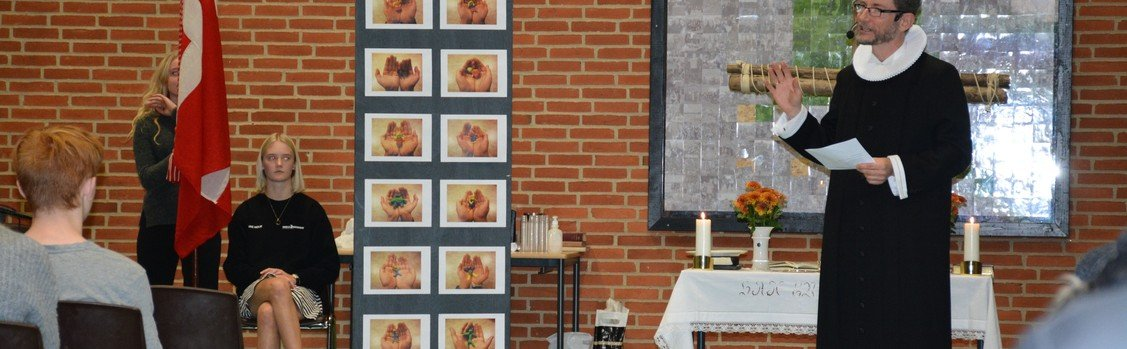 Nøvlingskov efterskole - BUSK - rytmisk gudstjeneste