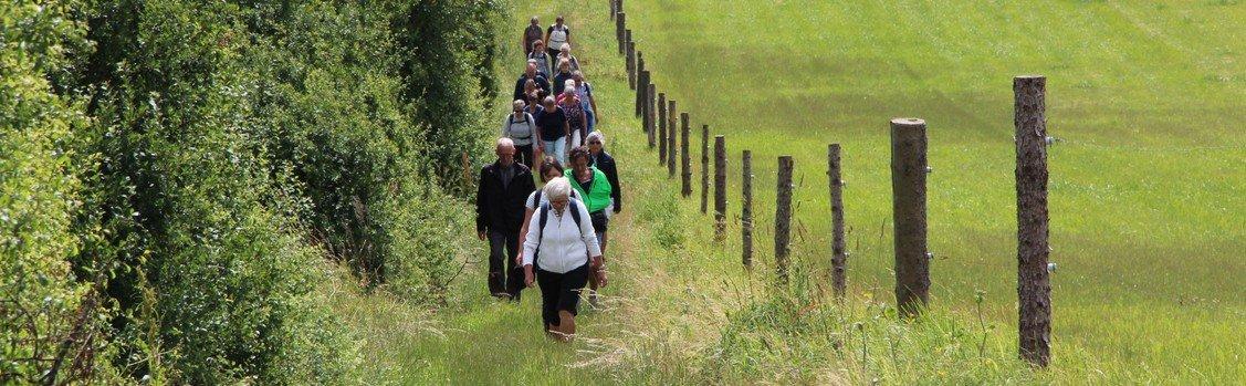 Caminovandring og pinsegudstjeneste