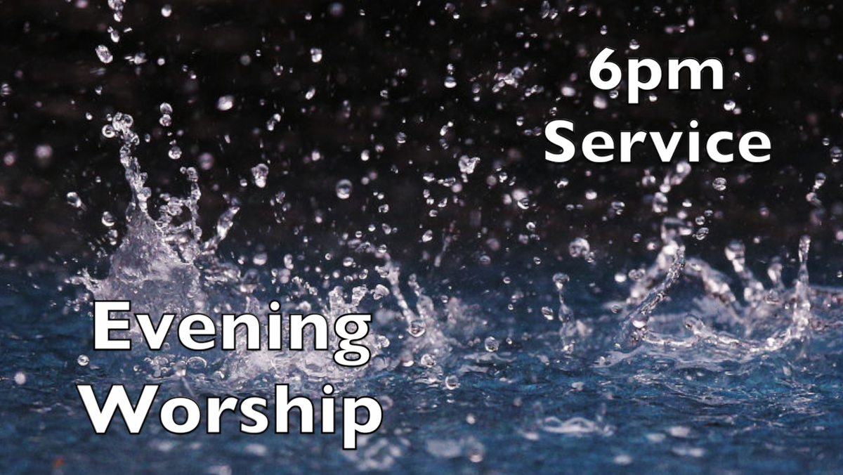 6pm Zoom Evening Service