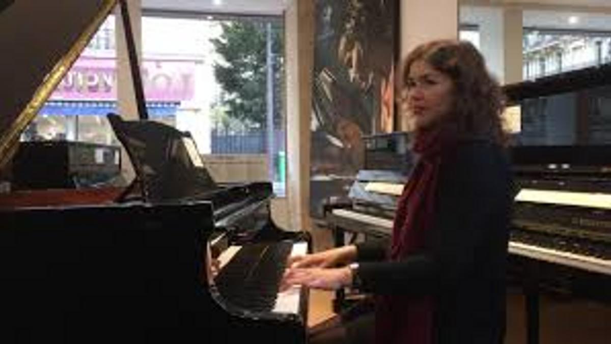 Pianisten Maria Bundgård giver koncert
