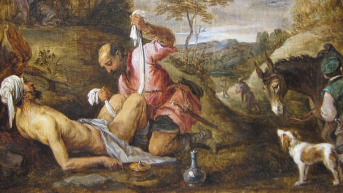 13. søndag efter trinitatis, Lukas 10, 23-37