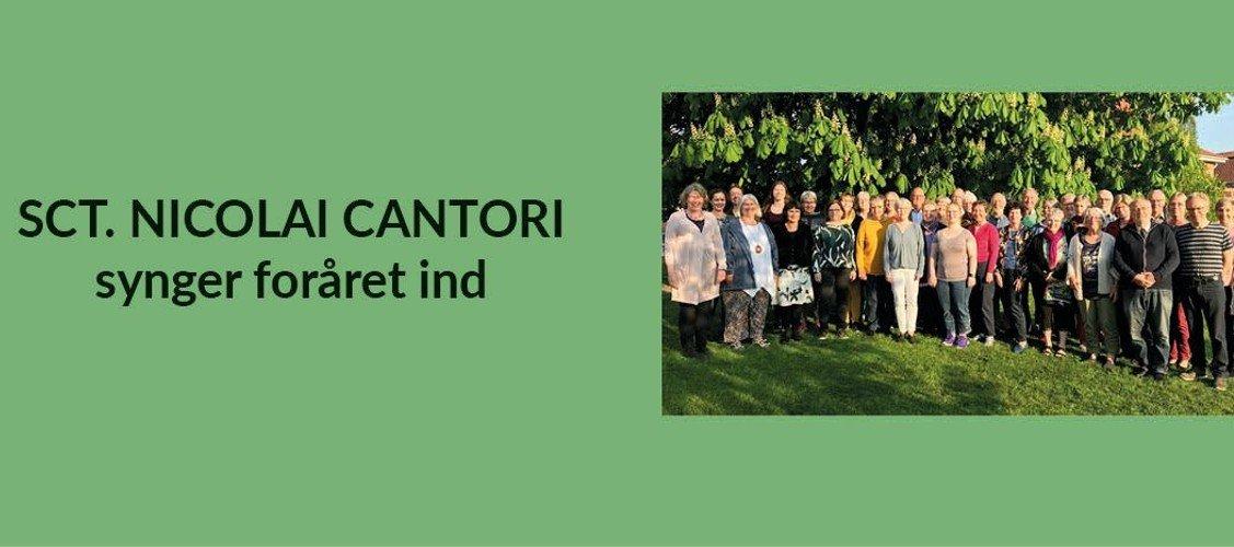 Fantastisk forårskoncert med Sct. Nicolai Cantori