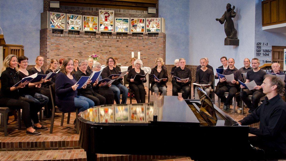Konzert - Uraufführung Anscharkirche 7 Strahlen