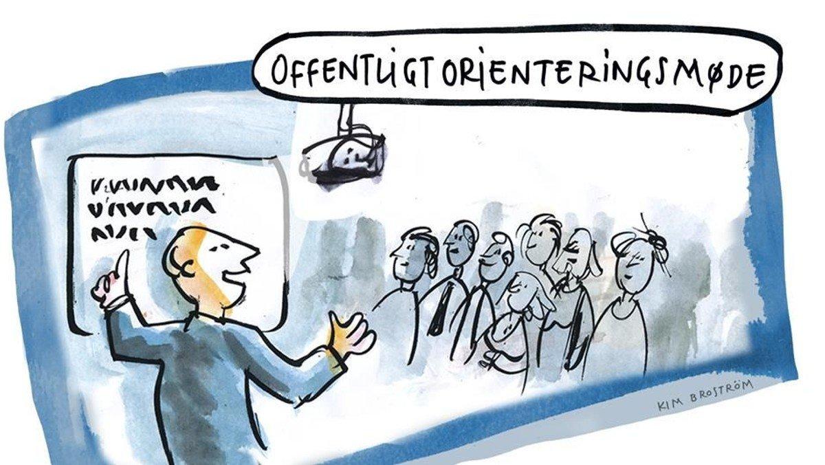 Orienteringsmøde / Menighedsmøde