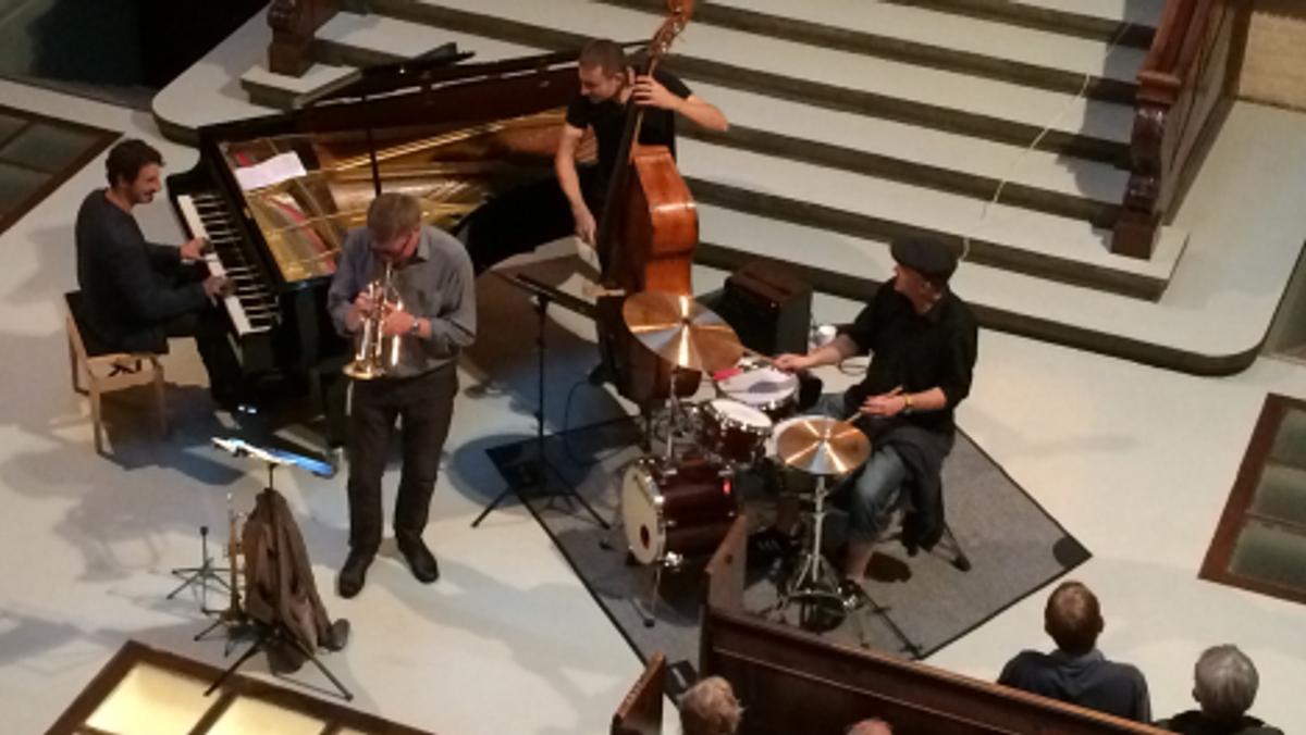 Jazz-gudstjeneste Pinsedag