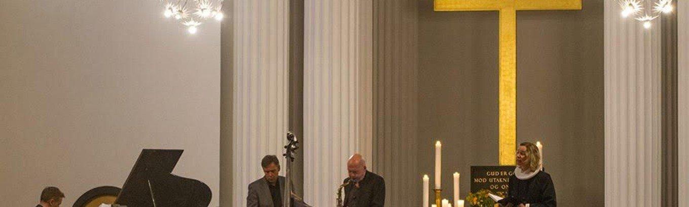 Jazzgudstjeneste (NB.  i Sct. Pauls Kirke )