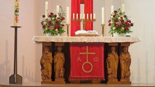 Konfirmationsgottesdienst in Sankt Martin