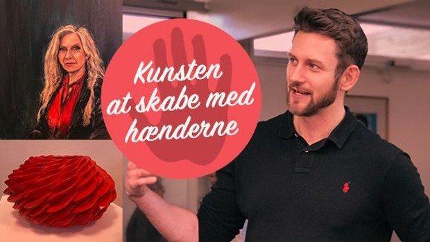 Blå Ulvetime med kunstner Anders Børgesen