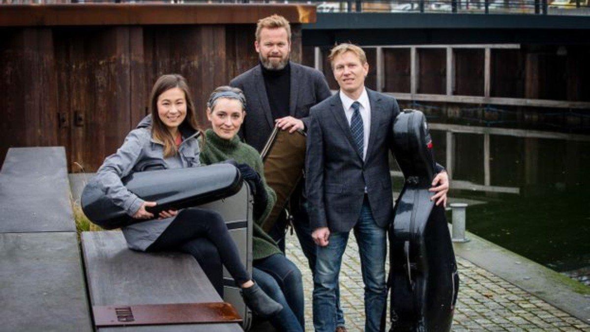 Koncert i Vejlby kirke: Artos Kvartetten