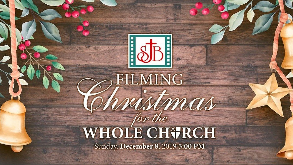 Filming Christmas For the Whole Church
