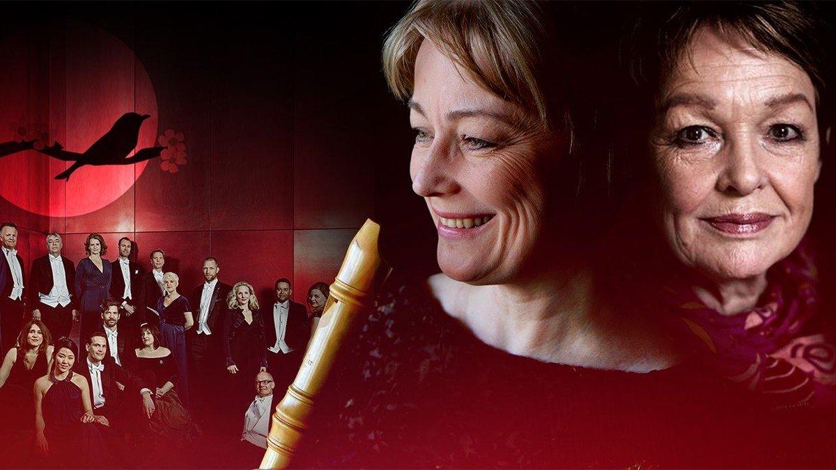 Nattergalen - koncert med DR Vokalensemblet, Michala Petri og Ghita Nørby