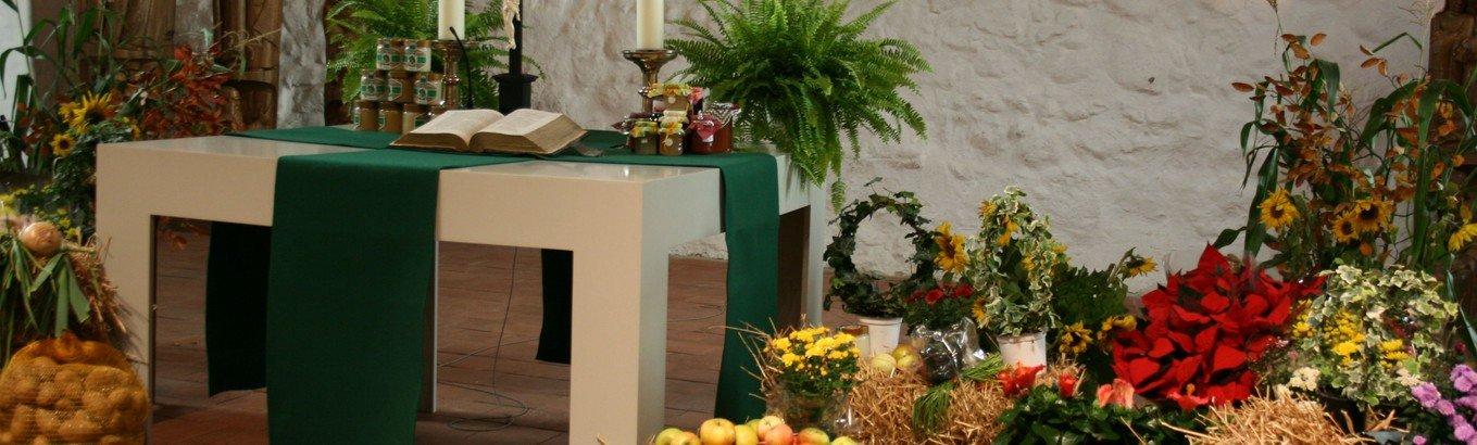 Gottesdienst zum Erntefest auf dem Stockseehof