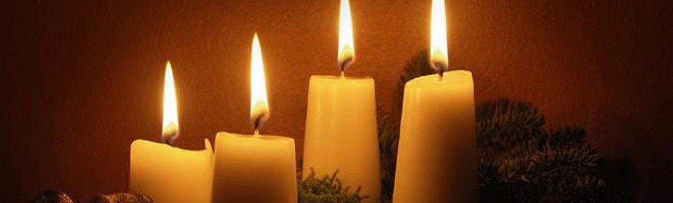 Adventsgudstjeneste (Helle Theill) og -fest