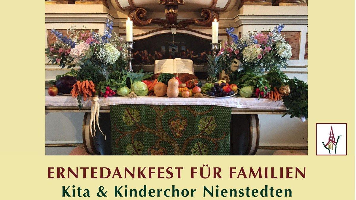 Erntedankfest für Familien 10 Uhr - HIER RESERVIEREN!