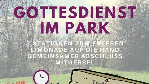 Gottesdienst im Park
