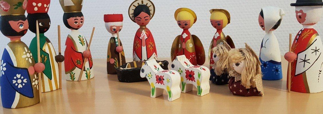 Adventsbørnegudstjeneste for de 3-6 årige ved Karin Thanning