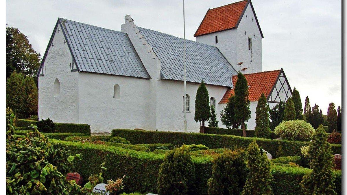 Afskedsgudstjeneste Øster Alling Kirke - 16. s.e. trinitatis