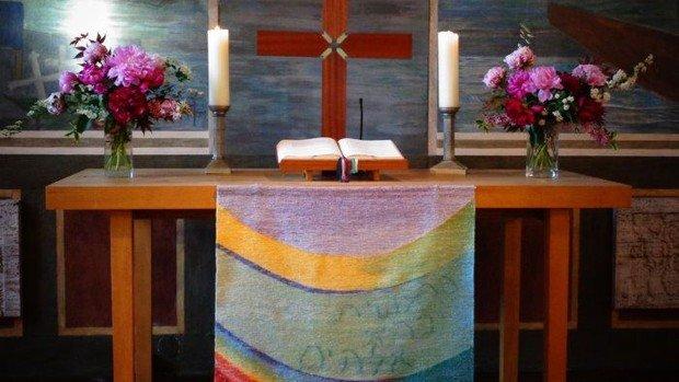 Gottesdienst in Konradshöhe mit Begrüßung der neuen Konfirmandengruppe