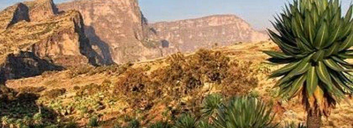 Etiopien fra nord til syd
