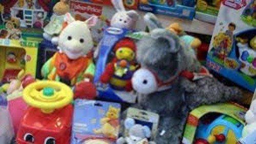 Uddeling af legetøj