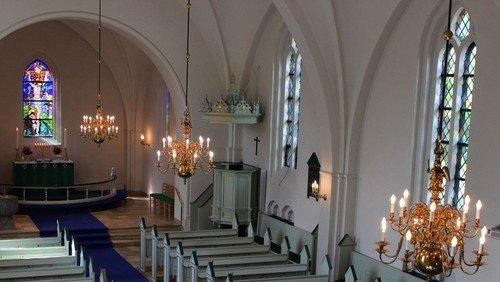 Højmesse m. kirkefrokost og foredrag