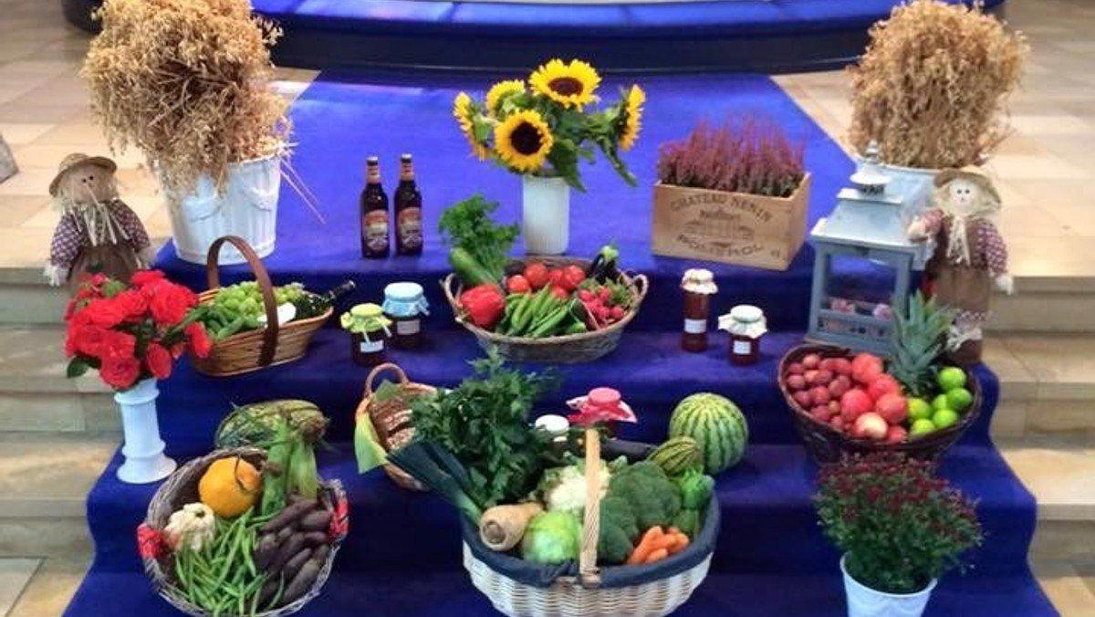 Høstgudstjeneste - med frugt og grønt (frokost i Menighedshuset er aflyst)