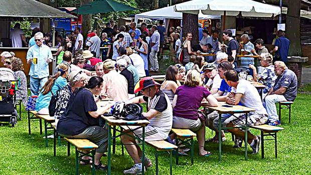 Open-Air-Familiengottesdienst und  Sommerfest der Gemeinden am Tegeler Forst