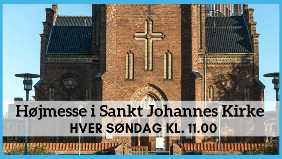 AFLYST Højmesse i Sankt Johannes kirke