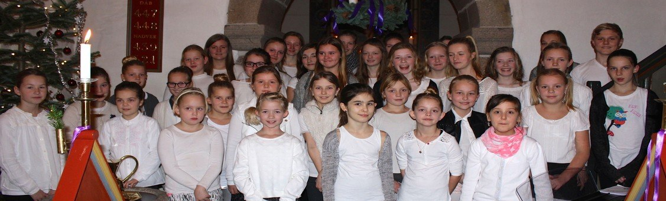 Børnekoret (2. -3. klasse) starter sæsonen op