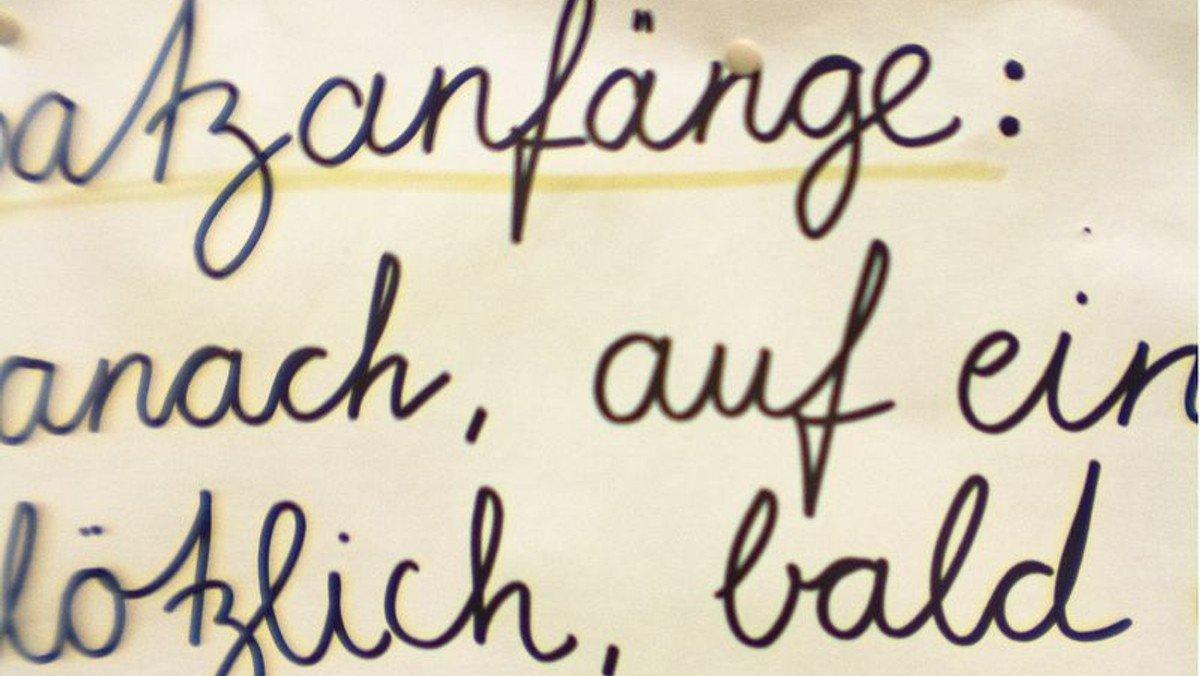 Deutschunterricht