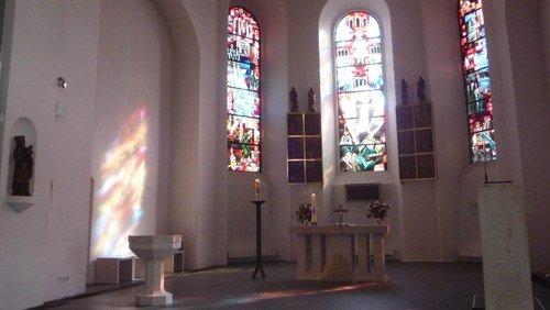 Gottesdienst mit Chörchen und mit Live-Übertragung auf die Homepage