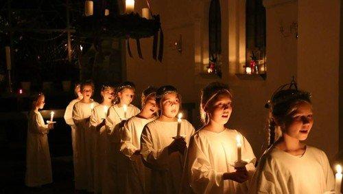 Julekoncert med Luciaoptog