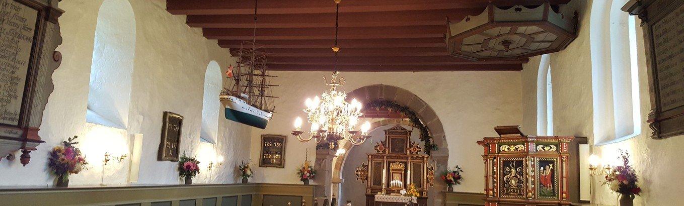 Jagtgudstjeneste i Kettrup Kirke