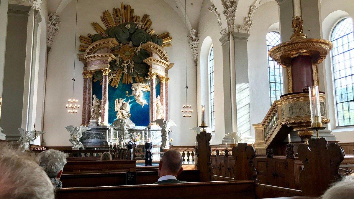 Musikgudstjeneste med Vor Frelsers Kantori v/ Finn Damgaard