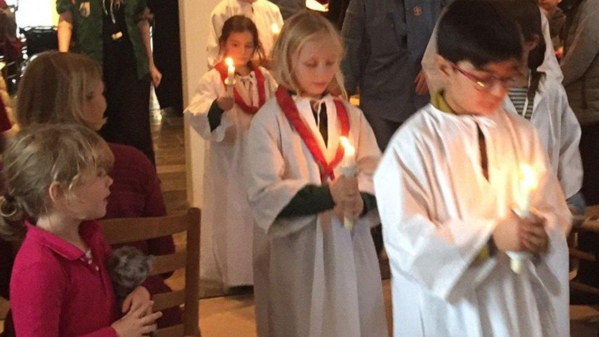 Lundehus Kirke lysgudstjeneste og kirkefrokost