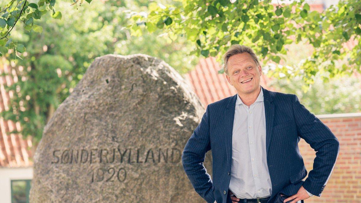 Sigurd Barret fortællekoncert om genforeningen Taksigelseskirken