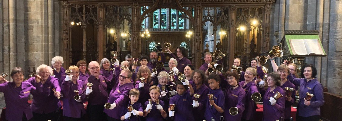 Carols & Carillons Concert of Christmas Music in Dunblane Cathedral with handbell ensembles, The NOTEables choir & instrumentalists