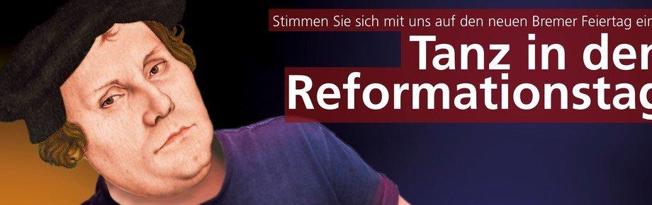 Tanz in den Reformationstag