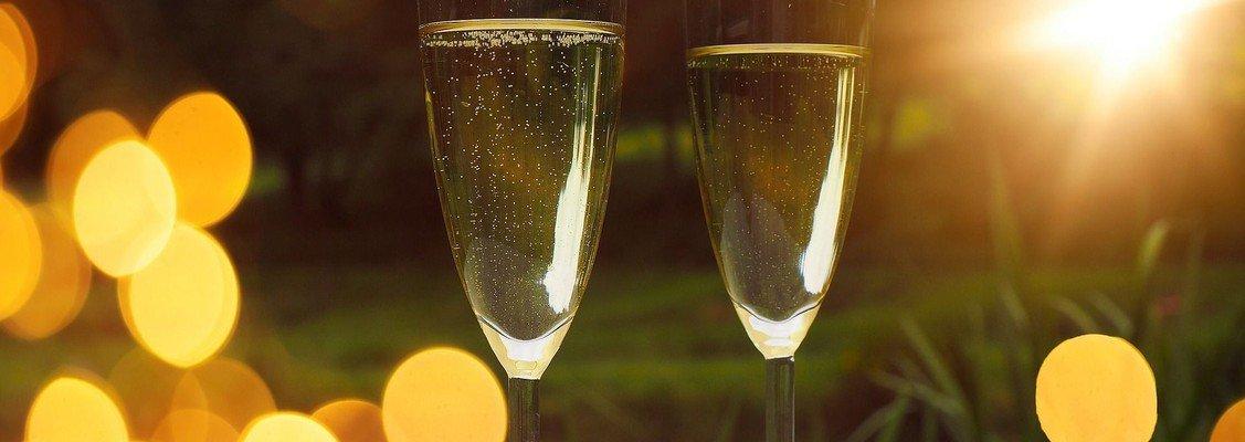 Champagnegudstjeneste i Vive kirke