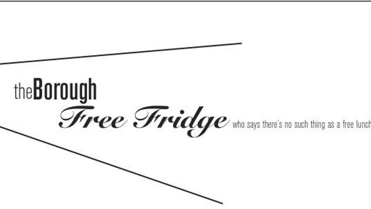 The Borough Free Fridge