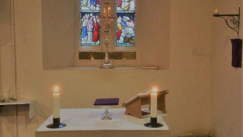 Eucharist POSTPONED UNTIL FURTHER NOTICE DUE TO CORONAVIRUS