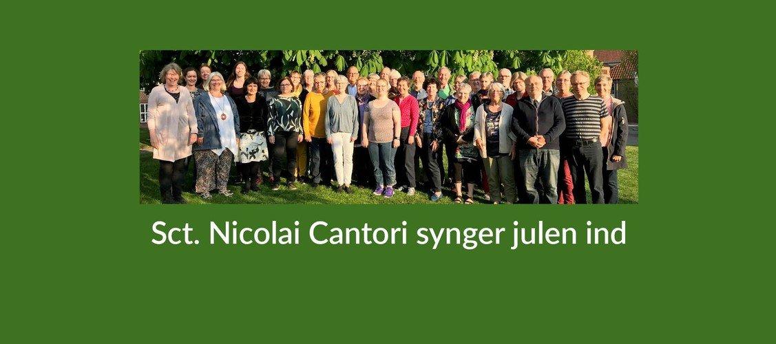 Julekoncert med Sct. Nicolai Cantori