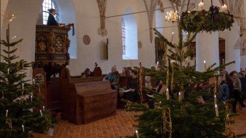 Julegudstjeneste i Søborg Kirke v. Gilleleje