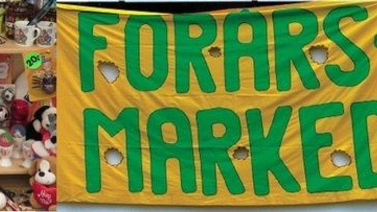 Forårsmarked -- gør en god handel i et godt selskab