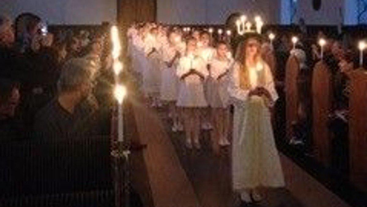 Luciaaften i kirken