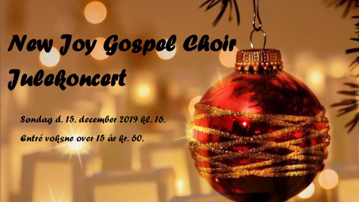 Julekoncert m. New Joy Gospel Choir