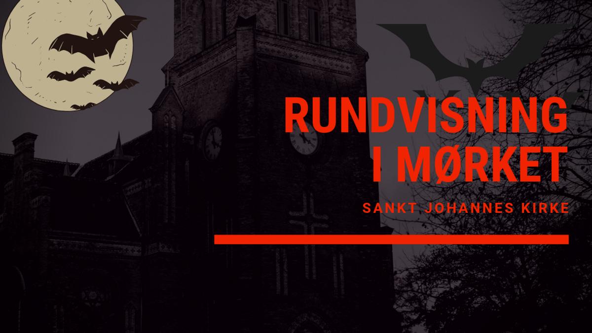 Rundvisning i mørket i Sankt Johannes Kirke