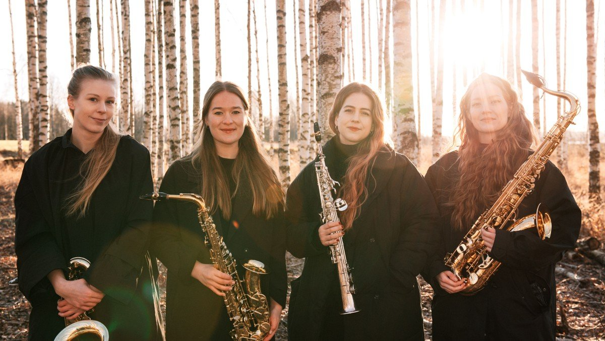AFLYST Koncert Jòr Saxofonkvartet