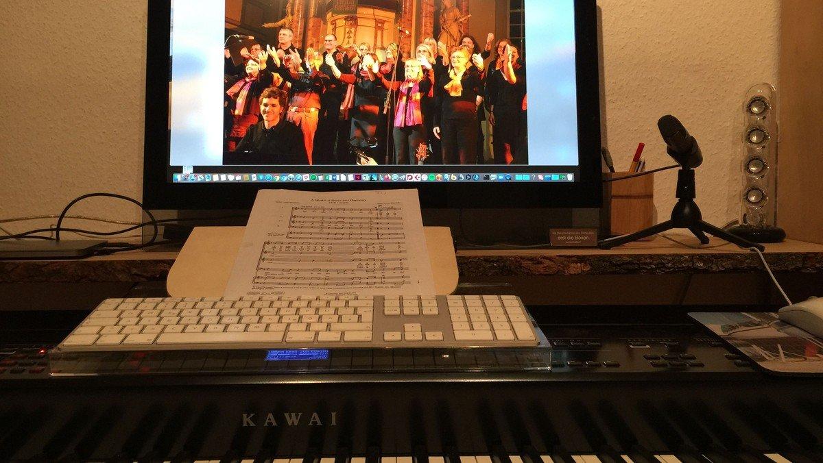 Änderung:Gospelchor in der Kirche